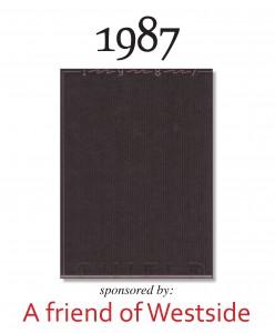 1987 Cover Sponsor